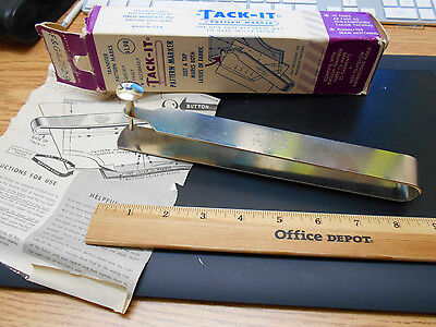 Older marking tool for marking pattern marks (only tool no marking paper)