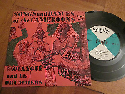 Songs And Dances of The Cameroons EP UK Topic 1959