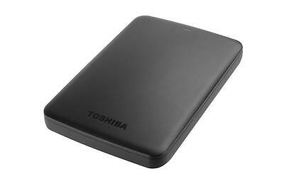 Disque Dur Externe Portable Noir Toshiba Canvio Basics 2TO USB 3.0