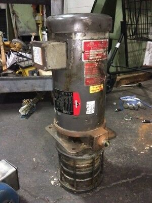 3 HP Gusher Coolant Pump, MSC4-5-300FJ, 230/460 V, 3450 RPM, USED, WARRANTY