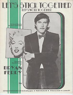 Let's Stick Together - Bryan Ferry - 1970 Sheet Music