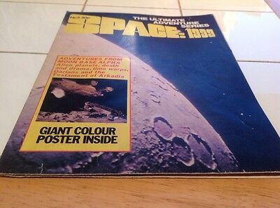 Space 1999 No. 2 30P The Ultimate Adventure Series Giant Poster 1973