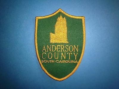 Anderson County South Carolina Jacket Biker Vest Backpack Travel Patch Crest