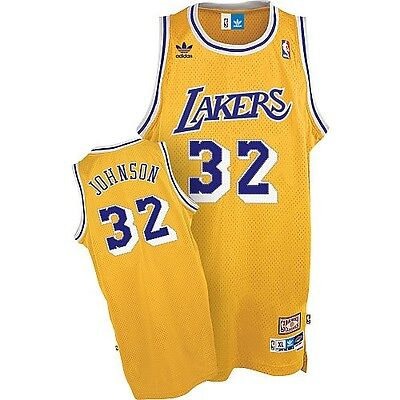Camiseta Nba, Magic Johnson Talla S,m,l,xl,xxl