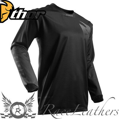 Thor Pulse Black Out Mx Motocross Motorcycle Motorbike Dirt Bike Jersey