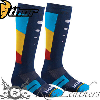 Thor Moto Knit Motocross Mx Enduro Motorcycle Motorbike Dirt Bike Socks Activ
