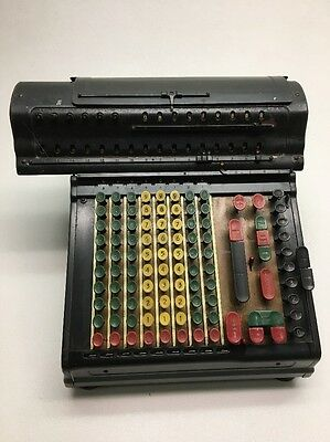 Vintage Marchant Adding Machine/Calculator 1940/50s model