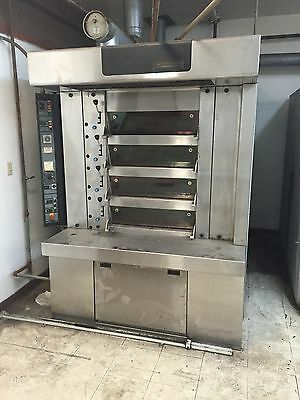 "BONGARD COMMERICAL STONE 4 DECK  OVEN W/ STEAM 30"" wide"