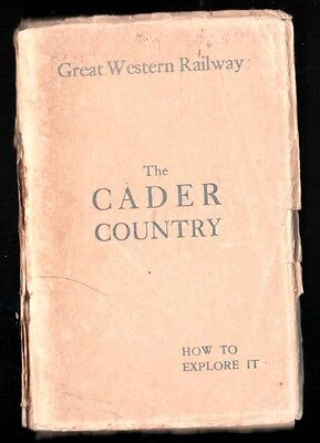 GWR Handy Aids 'THE CADER COUNTRY'