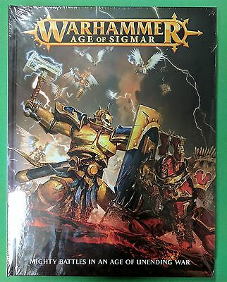 Age Of Sigmar Core Rulebook Hc Warhammer Fantasy New, Sealed
