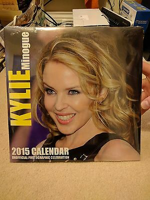 Kylie Minogue Unofficial 2015 Calendar Sealed Aphrodite Kiss Me Once