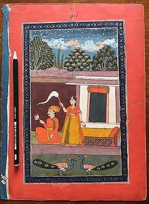 Indian miniature from deccan album