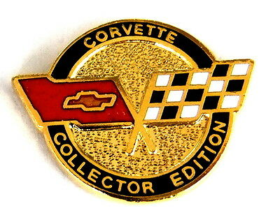 AUTO Pin / Pins - CHEVROLET CORVETTE COLLECTOR EDITION [1335]