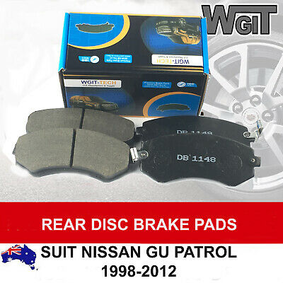 Disc Brake Pads Kit Rear For  Nissan Patrol GU GUII 1998-2012 DB1148