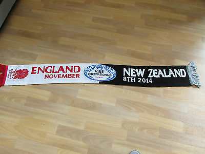 ENGLAND v New Zealand 2014 QBE Internationals RUGBY Union Scarf