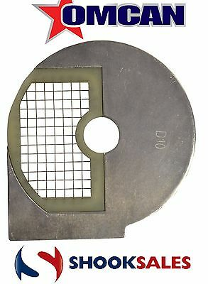 Omcan 22331 Commercial 12 mm Cubing Dicing for Food Processor 19476