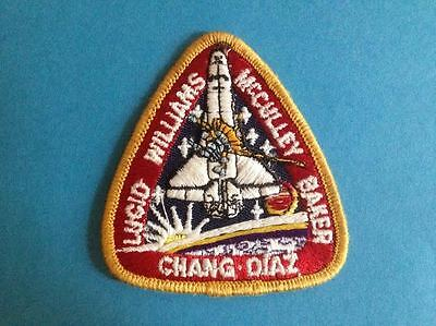 NASA STS 34 Lucid Williams McCulley Baker Chang-Diaz Collector Hat Patch Crest