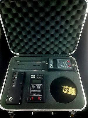 ELF/VLF Field Meter Kit for EMF Sensitivity and Paranormal Research