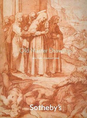 Sotheby's // Old Master Drawings Auction Catalog 2008