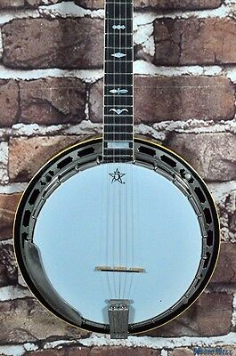 Vintage Mid '70s Gibson RB-250 Mastertone 5 String Banjo w/OHSC
