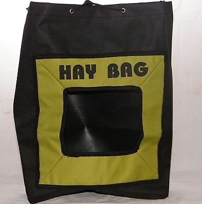 Hay Bag in Green and Black