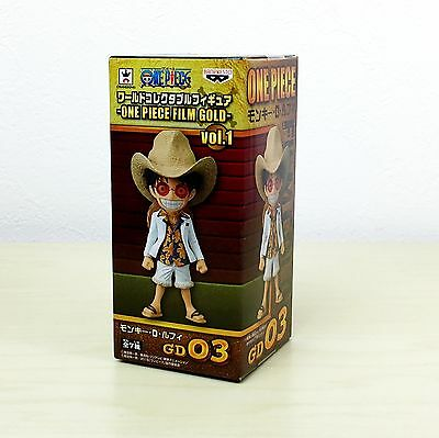 ONE PIECE WCF World Collectible Figure ONE PIECE FILM GOLD  Luffy