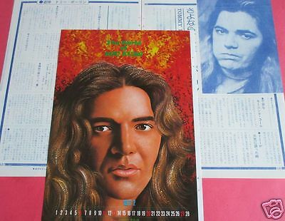 TOMMY BOLIN ex-DEEP PURPLE 1977 CLIPPING JAPAN MAGAZINE OS 2A 3PAGE