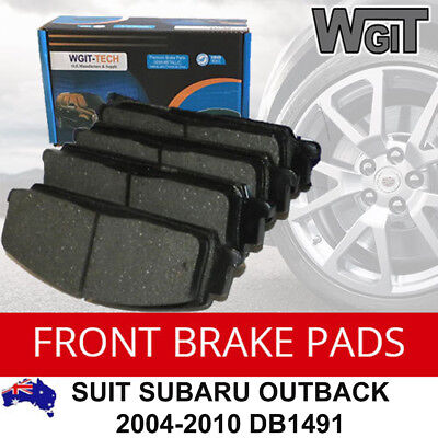Disc Brake Pads Kit Front Suit Subaru Outback 2004-2010 Db1491