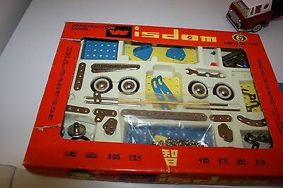Wisdom Construction Model Friction Type in box vintage very rare