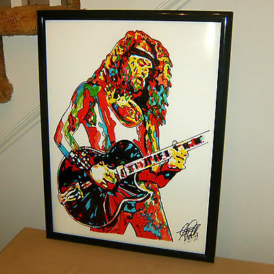 Ted Nugent, The Amboy Dukes, Singer, Rock Guitar, Hard Rock, 18x24 POSTER w/COA