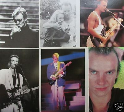 Sting 1986 Clipping Japan Magazine Ro 3A 6Page