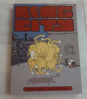 KING CITY by BRANDON GRAHAM trade paperback tpb! READ ONCE! EXCELLENT!