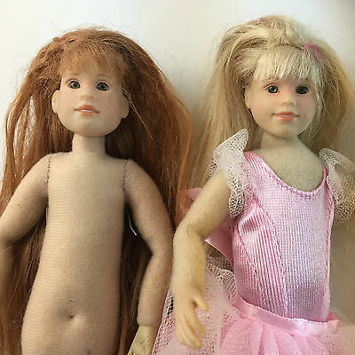 Only Hearts Club Doll Lot Red Hair Freckles Ballerina Blonde Poseable