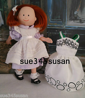Vintage Madeline Doll Eden Retired EVC in Original Outfit + Extra Dress