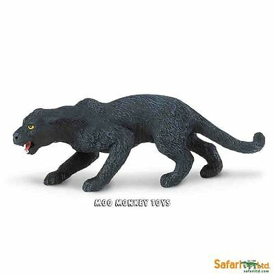 BLACK PANTHER Safari Ltd # 272829 South American Wild Animal Replica NWT
