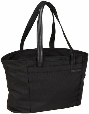 Briggs & Riley Baseline Large Shopping Tote,Black,13x17x7.3, New