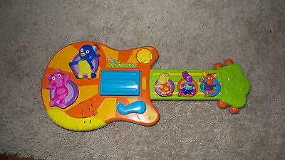 The Backyadigans Toy Interactive Guitar 2006 Sing and Strum wth Music and Sounds