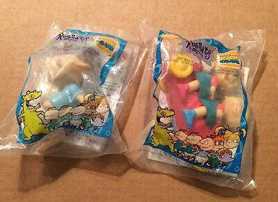 2 Burger Nickelodeon Rugrats Toys from 1998