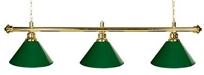 Brass Pool - Snooker Table Lights - Bar & Shades!! Man cave!!