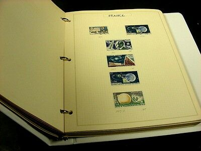 WW, RUSSIA, Space, Excellent Stamps & Souvenir Sheets hinged on pages