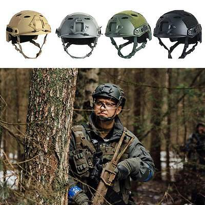 Military Tactical Safety Hat Airsoft Paintball SWAT Base Fast Protective Helmet