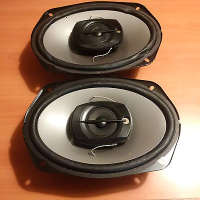 "Pioneer Ts-695P 230W 6/9"" 2-Way Car Stereo Speakers With Grills"