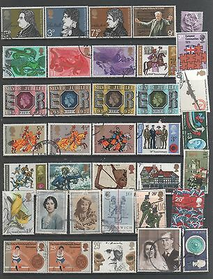 Small Collection of  GB  Stamps A10  All The Stamps Pictured