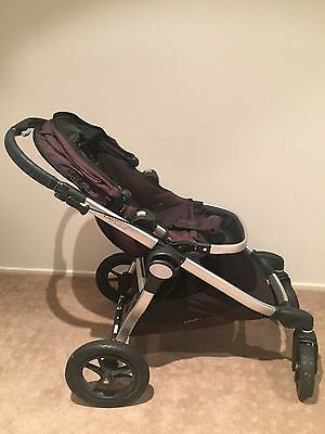 Baby Jogger City Select Pram Black - Includes Bassinet