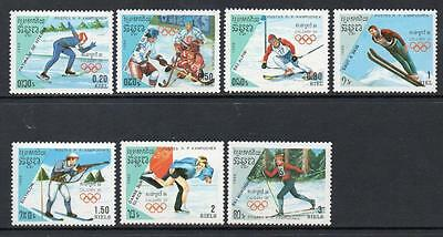 Cambodia MNH 1988 Winter Olympic Games