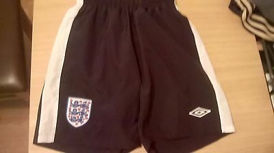Childrens England Shorts With Mesh Lining & Two Side Pockets