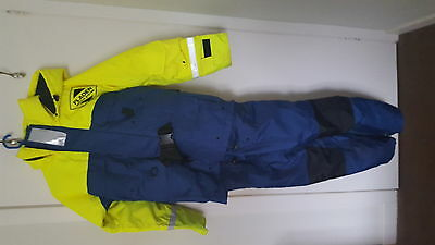 Floatation suit used once size small