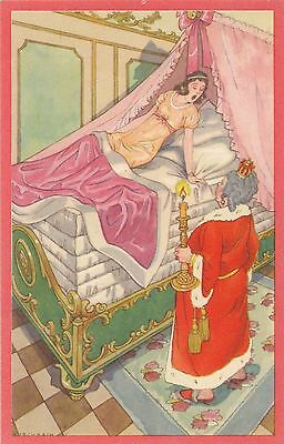 POSTCARD   KURCHBACH   The  Sleeping  Princess