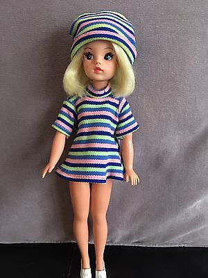 Pedigree Trendy Sindy Doll In Part College Girl And Tassel Shoes Brill Condition