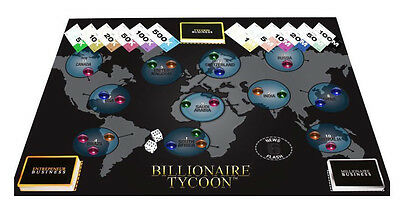 Wholesale Job Lot of 10 x BILLIONAIRE TYCOON BOARD GAME BRAND NEW